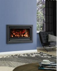 Archer Inbuilt flat front Charcoal IS900