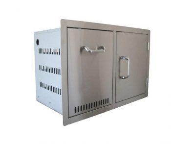 Gas Bottle Drawer and Single Door