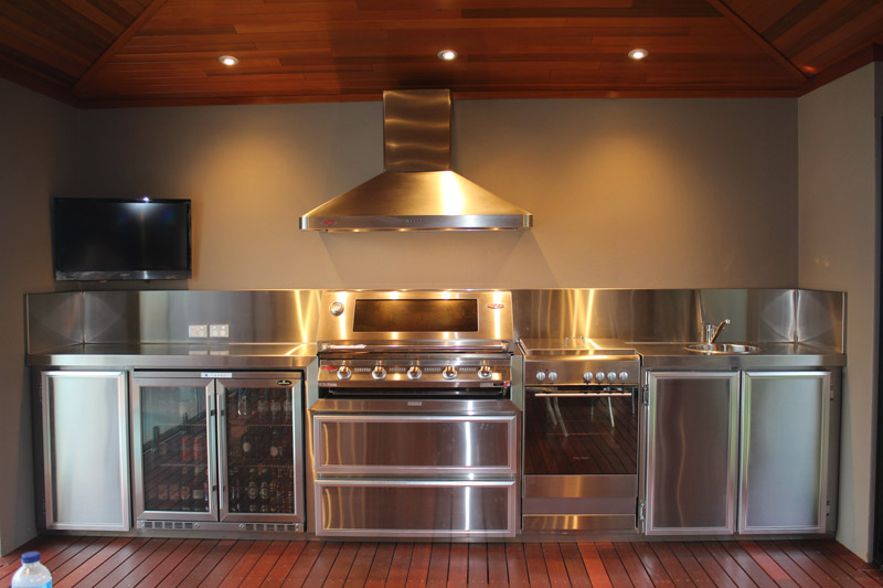 Custom Stainless Steel Kitchens. Outdoor Kitchens ...
