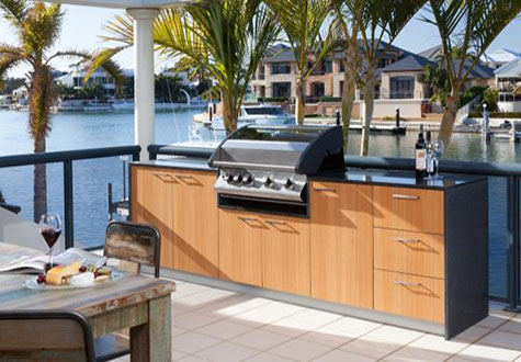 Outdoor Kitchen Doors