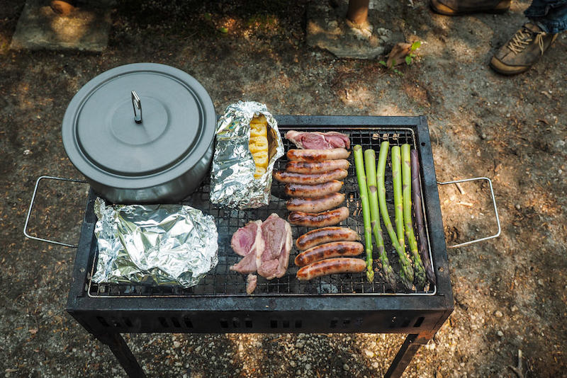 camping barbeque