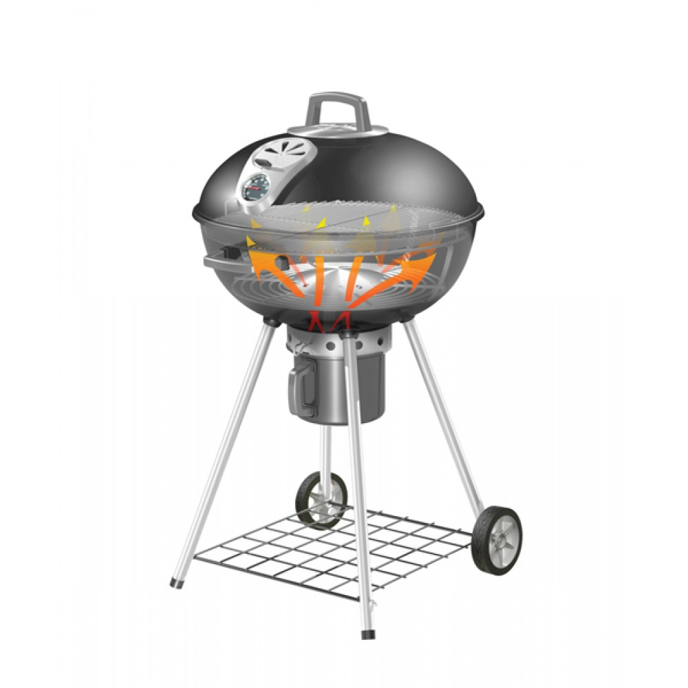 Napoleon Professional Charcoal Kettle Grill Barbecue